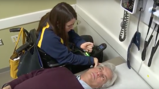 New mobile imaging device helps physically disabled